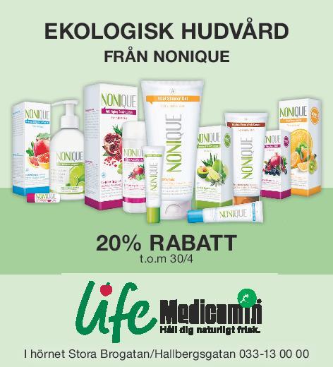 Ekologisk hudvård  från Nonique