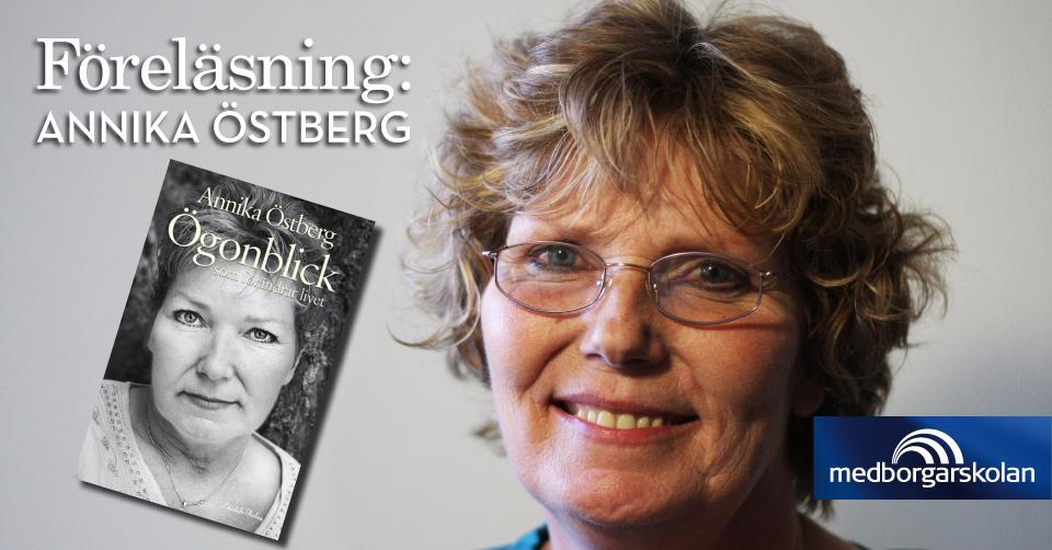 Tips! Föreläsning med Annika Östberg – Att finna hopp när allt känns förgäves