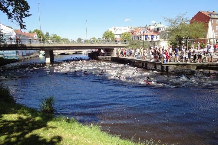 Borås City Triathlon, 6 juni. Första start kl12,00