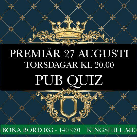 Premiär för Quiz på Kings Hill