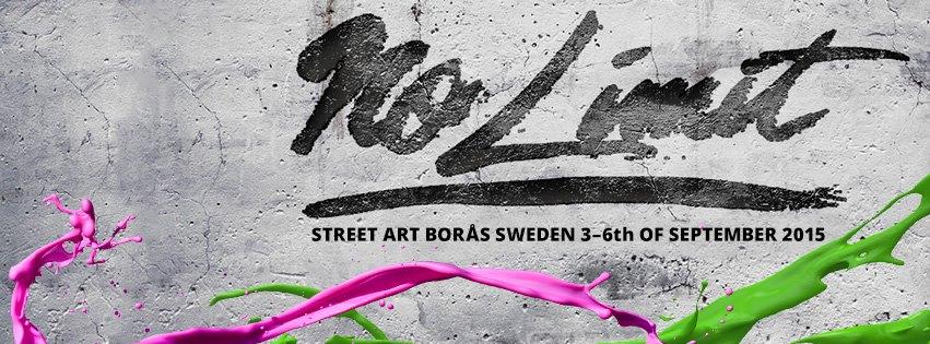 No Limit street art festival 3-6 sept