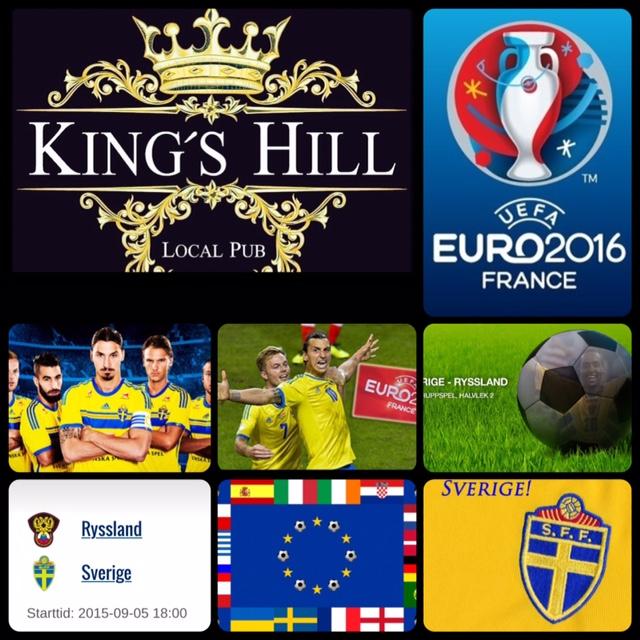 Se fotbollsmatchen Ryssland – Sverige 5 september 18:00 på King's Hill