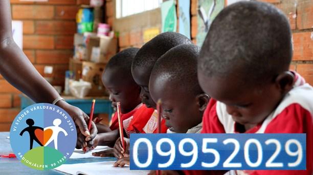 P4 samlar in pengar till Världens barn