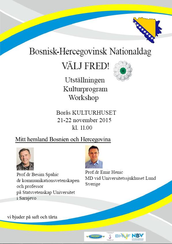 Bosnisk-Hercegovinsk Nationaldag 21-22 november