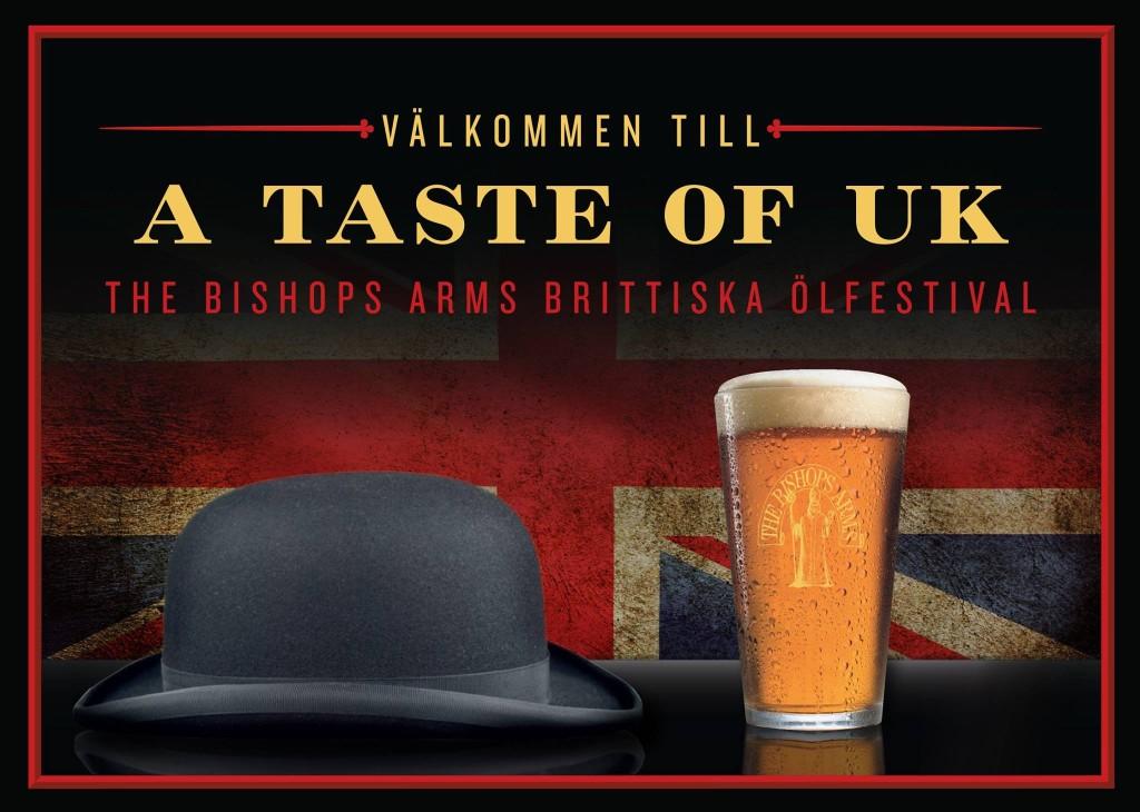 Brittisk vecka på The Bishop Arms 15-21 februari