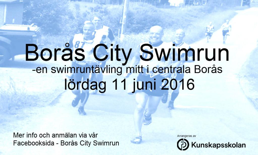 Borås City Swimrun 11 juni