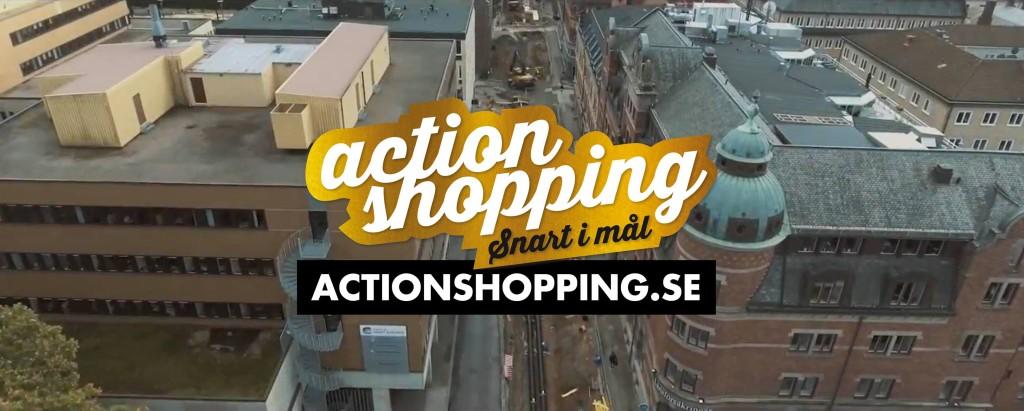 Actionshopping i Borås City