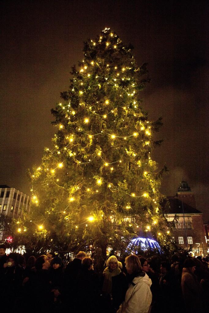 Morgonshopping i Borås City 23:e december