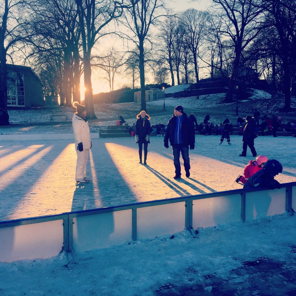 Isbanan öppnar för säsongen 3 december