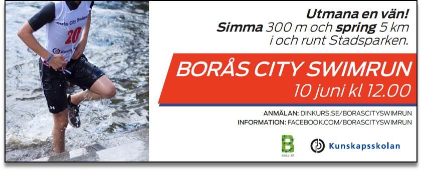 Borås City Swimrun 10 juni
