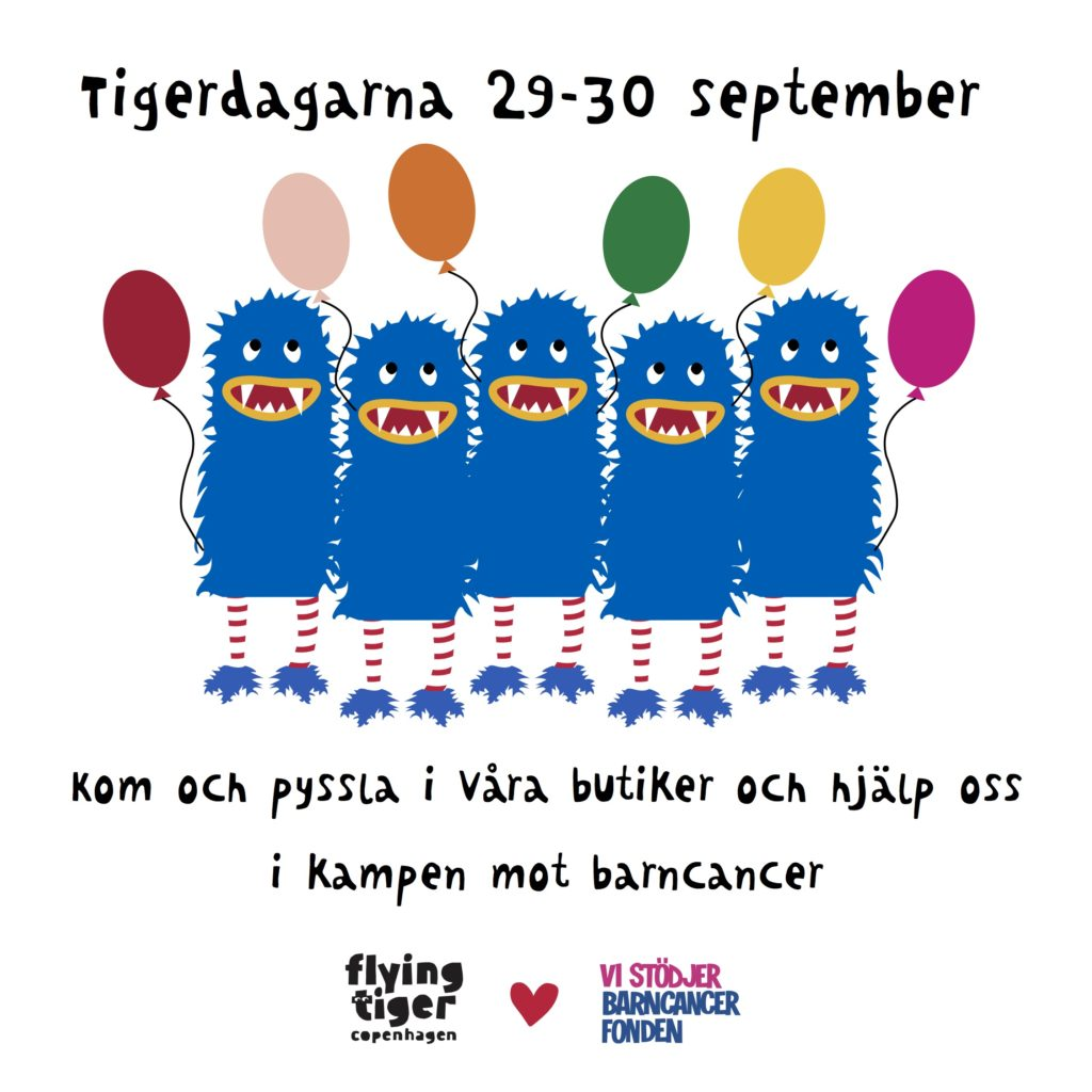 Tigerdagarna med Flying Tiger Copenhagen
