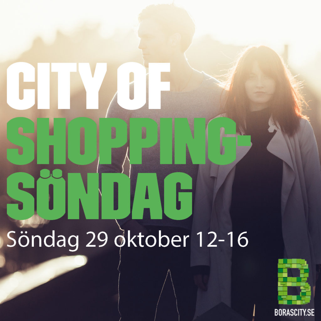 Shoppingsöndag 29 oktober