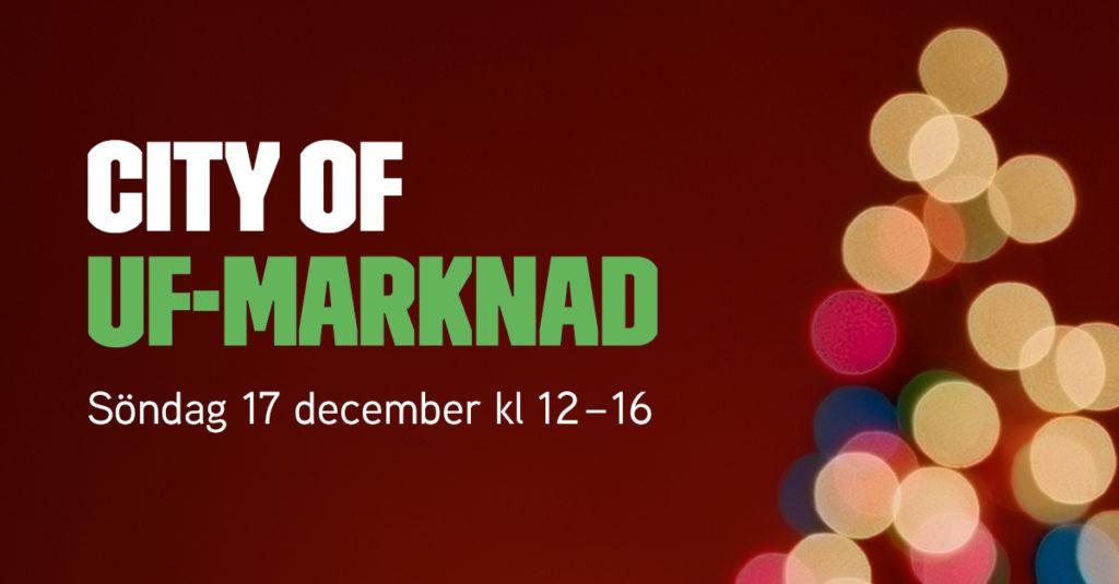 UF-julmarknad på Hötorget och träffa Tomten