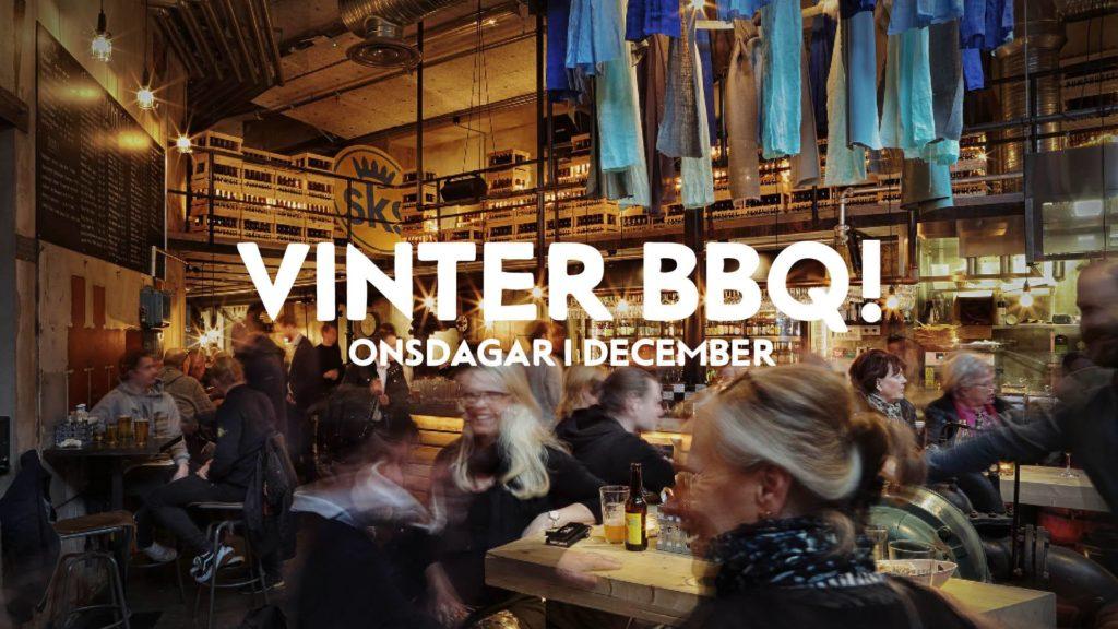 Vinter-BBQ på Pumphuset