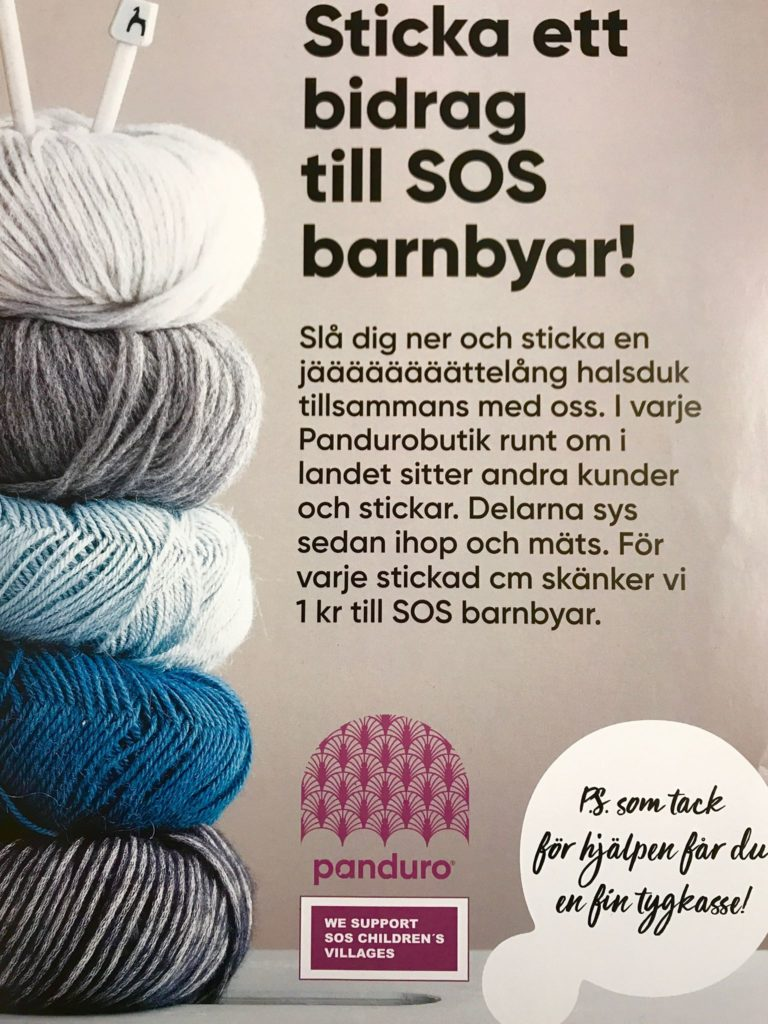 Hjälp Panduro att bidra till SOS Barnbyar