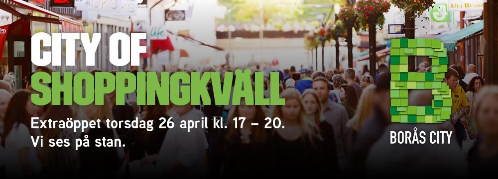 Shoppingkväll i Borås City