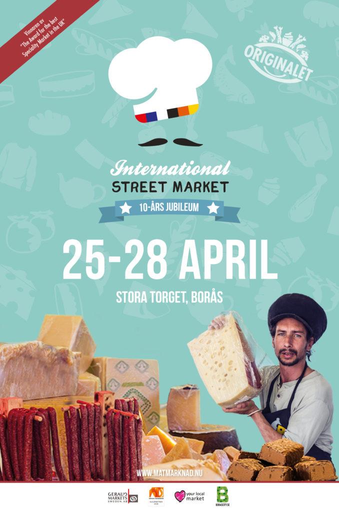 International Street Market 25-28 april på Stora Torget