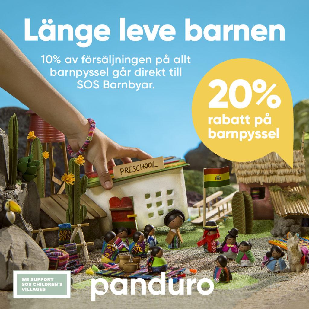 Panduro har 20 % på juniorsortimentet