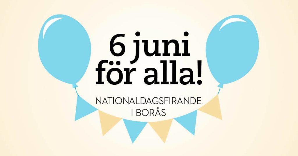 6 juni för alla! Välkomna på Nationaldagsfirande