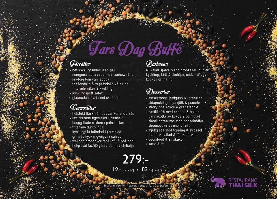 Fira Fars dag på Thai Silk