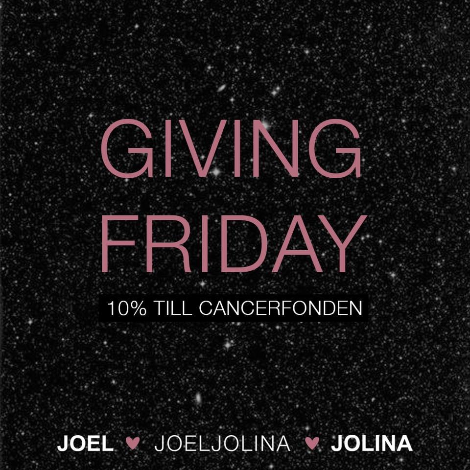 Giving Friday hos Joel Jolina 23 november