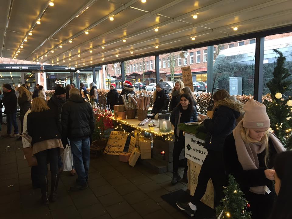 Julaktiviteter i Borås City 15-16 december