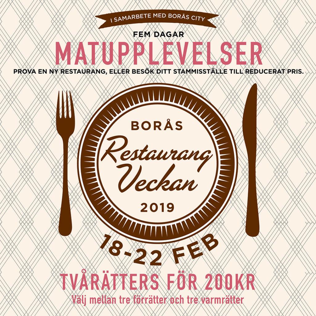 Menyerna för Restaurangveckan 2019 är nu släppta!