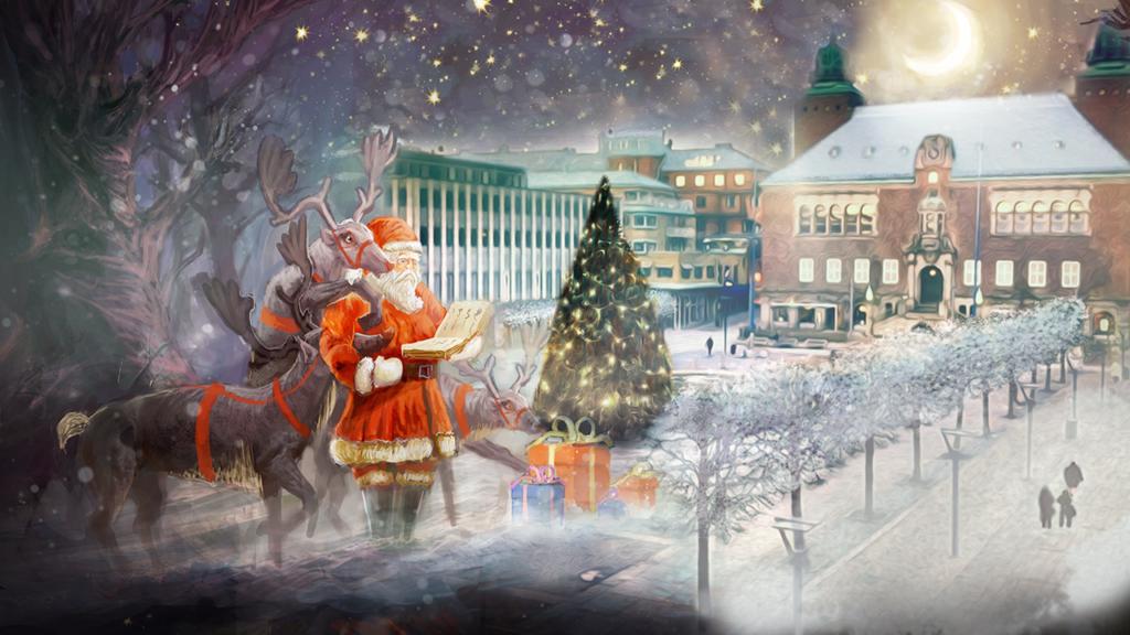Julbodarna är tillbaka på Stora Torget till julen