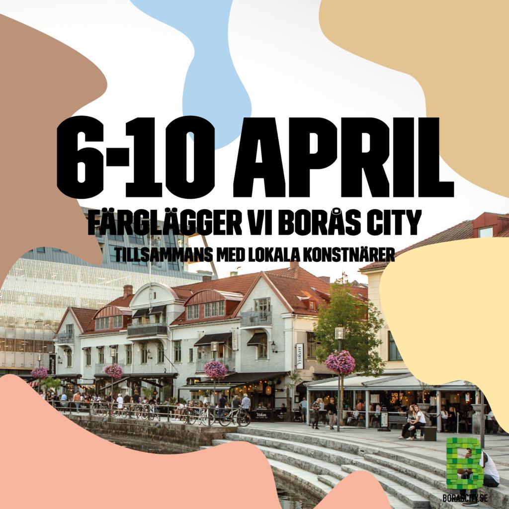 Nu färglägger vi Borås City!