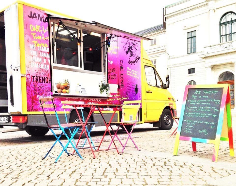 Food trucks på Stora Torget i sommar!